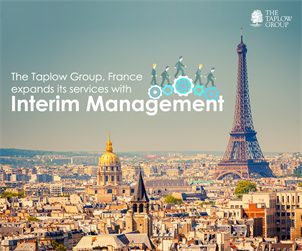 International Executive Search Taplow Consulting France expands its services with Interim Management.