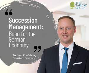 First of a kind event, Germany-wide series of events on Succession Management