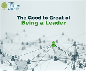 The Good to Great of Being a Leader