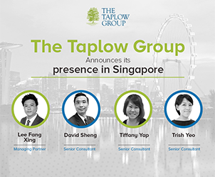 January 2020– Singapore is primed for exceptional growth. Taplow Group is pleased to announce the formation of Taplow Singapore.