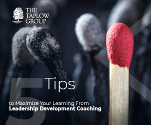 5 Tips to Maximize Your Learning From Leadership Development Coaching