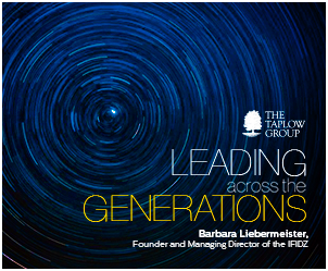 Leading Across the Generations by Barbara Liebermeister, Founder and Managing Director of the IFIDZ, Germany