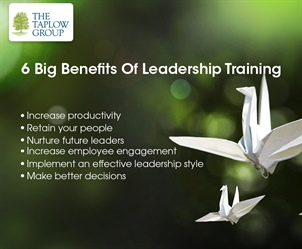6 Big Benefits Of Leadership Training