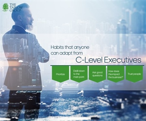 Habits that anyone can adapt from C-Level Executives