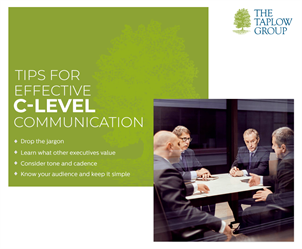Tips for Effective C-Level Communication