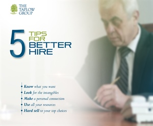 Five Tips for Better Hire