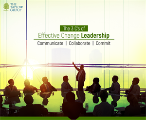 The 3 C's of Effective Change Leadership