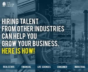Hiring talent from other Industries can help you grow your business. Here is how!