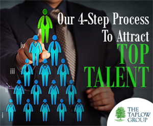 Our 4 – Step Process To Attract Top Talent.