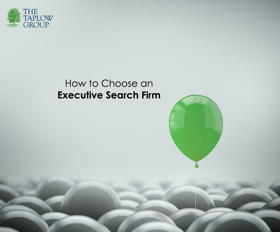 How to Choose an Executive Search Firm