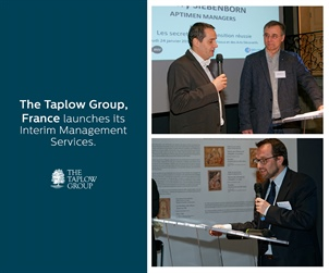 Taplow France launches Interim Management Services.