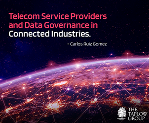 Telecom Service Providers and Data Governance in Connected Industries