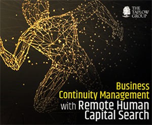 Business Continuity Management with Remote Human Capital Search
