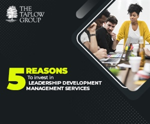 5 Reasons To Invest In Leadership Development Management Services