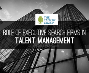 Role of Executive Search Firms in Talent Management